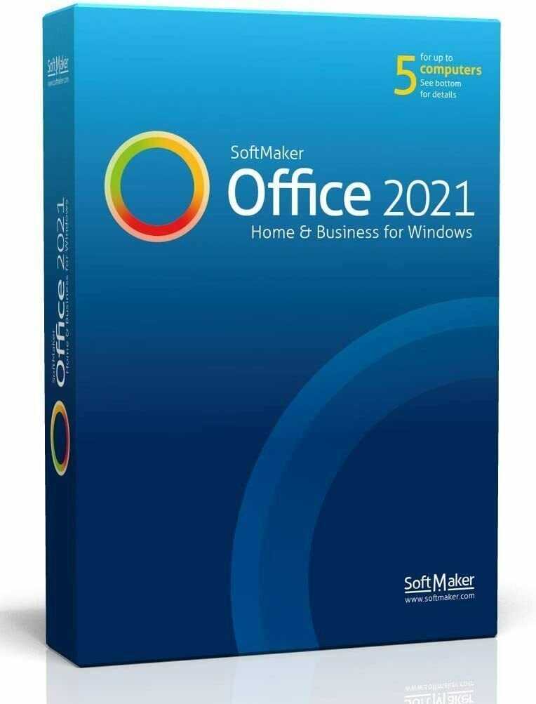 Softmaker Office Suite 2021 Home and Business  FREE SHIPPING! - $49.88