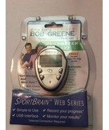 New Bob Greene Web Series Sportbrain CL332 Sportbrain Istep X2, Pedomete... - $12.95