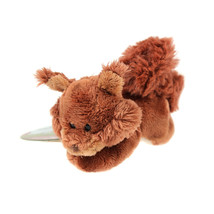 MagNICI Squirrel Brown Stuffed Toy Animal Magnet in Paws 5 inches - $11.99