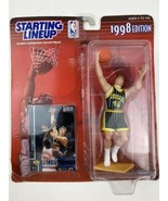 Kenner NBA 1998 Starting Lineup Rik Smits Indiana Pacers Figure NEW IN P... - $6.88