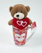 Dan Dee Collector's Choice Plush Valentines Teddy Bear With Heart & Mug New - $9.89