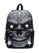 Mojo Comrade Mr Peterson Star Skull Gothic Urban Punk School Book Bag Backpack - $44.99