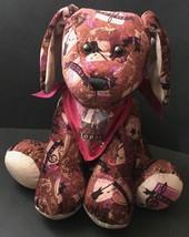 Build A Bear Jonas Brothers Dog Plush Stuffed Animal Vest Bandana Music ... - $24.74