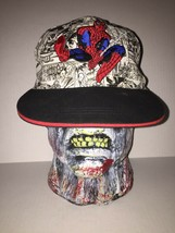 Spiderman Comic Strip Black White Red Marvel Snapback Ultimate One Size ... - $24.74