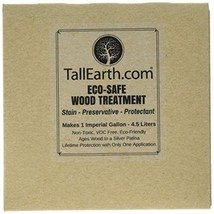 Tall Earth TEESWT1G Eco-Safe Wood Treatment, Stain and Preservative, 1/3... - $26.75