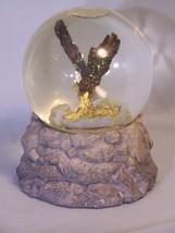 "Bald Eagle Musical Water Globe ""America The Beautiful"" Silvestri (VTG) 5... - $11.72"