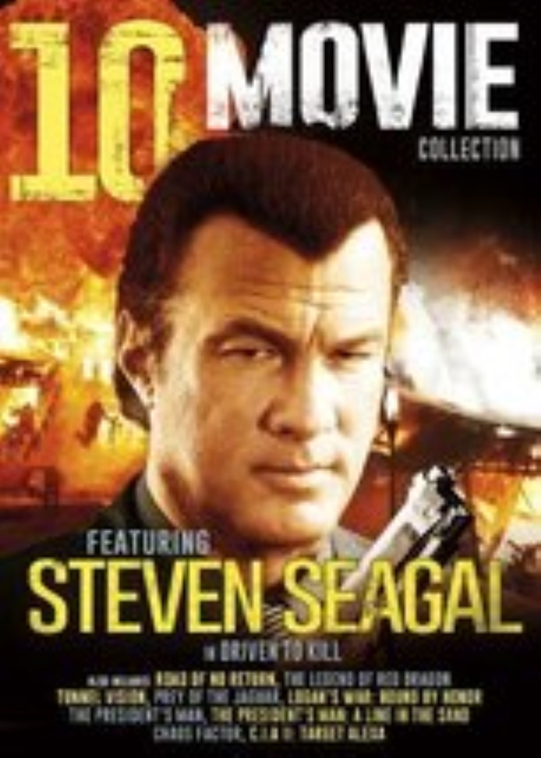 10-Movie Action Collection V.8  Steven Segal Dvd