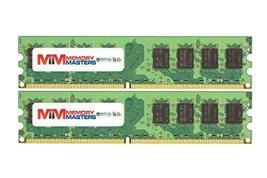 Memory Masters 4GB (2x2GB) DDR2-533MHz PC2-4200 Non-ECC Udimm 2Rx8 1.8V Unbuffere - $22.62