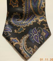 "Mens Geoffery Beene Polyester and silk Neck Tie 58"" long 3 1/2"" wide #3 Necktie image 3"