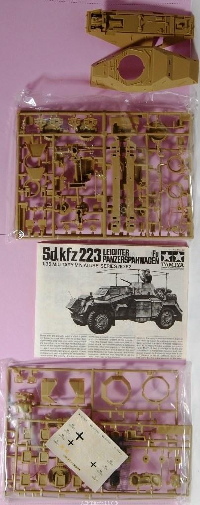 1/35 Sd.kfz 223 Leichter Panzerspahwagen(Fu) Kit No MM162 Series No. 62