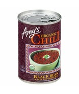 Amy's Organic Low Fat Medium Chili Black Bean 14.7 oz ( Pack of 12 ) - $61.70