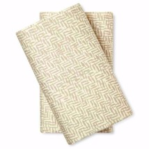 Nate Berkus Cotton Sateen Pillowcases Two Standard Gray Soft 300 Thread ... - $23.75