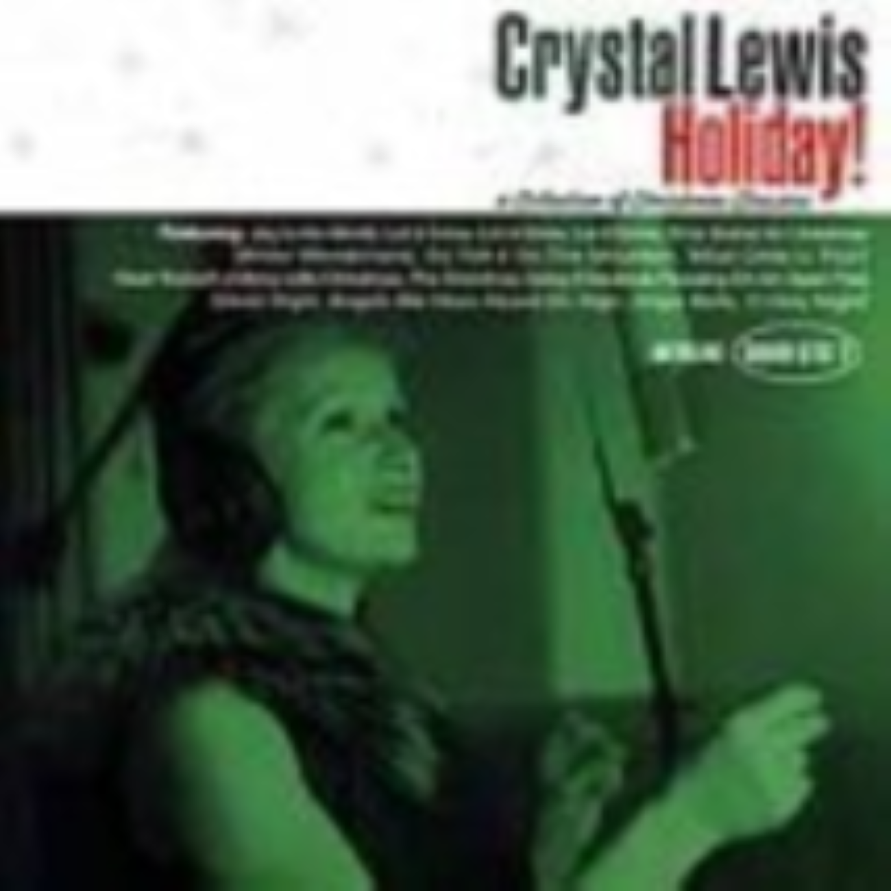 Holiday: A Collection of Christmas Classics by Lewis,Crystal Cd
