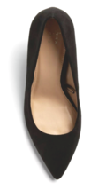 A New Day Women's Gemma Pointed Toe Heeled Pumps Black Wide NWT image 3