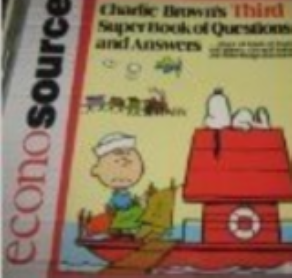 Charlie Brown's Third Super Book Of Questions and Answers  by Charles M. Schulz