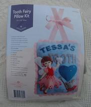 Merry Stockings Tooth Fairy Pillow Felt Applique Kit MS10-006 - OPEN Kit... - $14.99