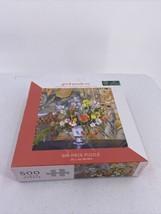 Good Puzzle Co. Renoir Vase of Flowers 500 Piece Puzzle, OPEN BOX - $9.49