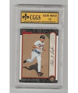 1999 Bowman #5 Cal Ripken Now & Then Graded GEM MINT 10 CGGS - $7.16