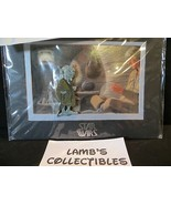 Disney Parks Authentic Yoda Jumbo LE pin with 5 x 7 mini print Star Wars Weekend - $34.19