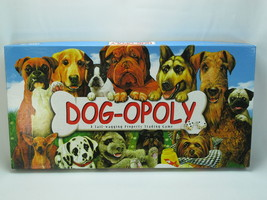 Dog-opoly 2004 Monopoly Board Game Late for the Sky 100% Complete Near Mint - $18.69