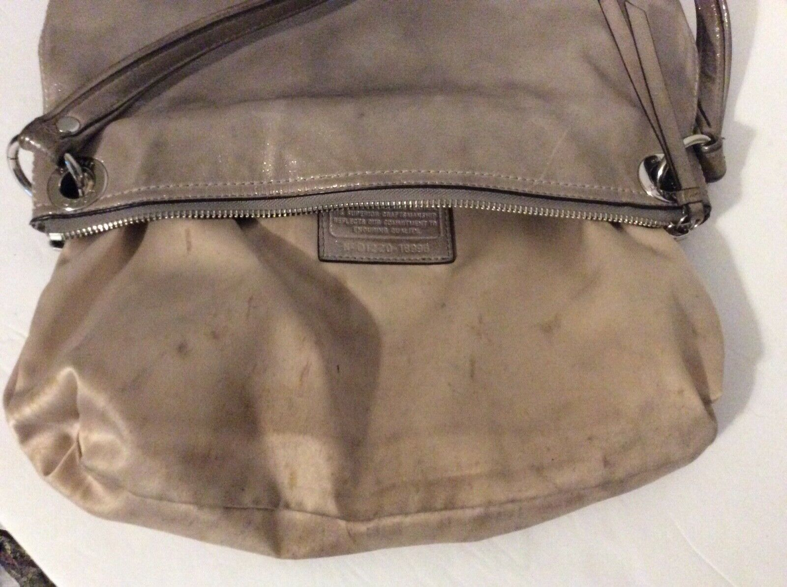 Coach Poppy Leather Hippie Cross Body Bag D1220-18996 image 7