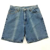 Vintage LEVI'S Short en Jeans 36 Taille Décontracté Jorts Braguette Zip ... - $24.71