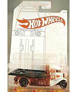 2020 Hot Wheels 52 Anniversary Pearl & Chrome 3/6 FAST-BED HAULER White ... - $8.00