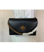 NEW Tory Burch Black Kira Mixed-materials Belt Bag - $277.29