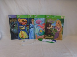 Leapfrog Tag Reading System  Childrens Touch Technology Talking Words 6 Books + - $36.01