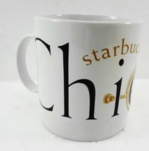 Starbucks Chicago City Series 18 oz Coffee Mug 1994 Jerry Greer Jan Belson - $27.93