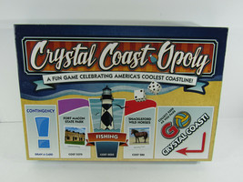 North Carolina Crystal Coast Opoly Monopoly for  America's coolest coast... - $24.74