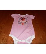 Baltimore Orioles MLB Baseball Baby Girl Pink Romper Creeper Bodysuit 18... - $9.89