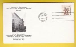 DWIGHT D. EISENHOWER NATIONAL REPUBLIC CENTER 5th ANNIV. WASHINGTON DC 1... - $1.98