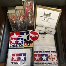 1981 Vintage Tamiya Model Making Contest Prize Set Trophy/T-shirt/Apron/... - $1,187.98