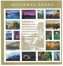 National Parks USPS Forever Stamps Sheet of 16 Postage Stamps 2016 - $17.80