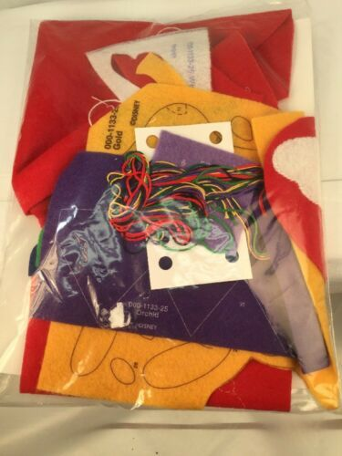 "Disney Winnie The Pooh ""Pooh's Presents"" Christmas Stocking Janlynn #1133-25 image 2"