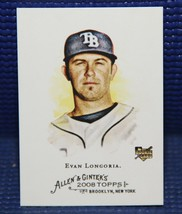 Evan Longoria Rookie Card - Topps Allen Ginter #177 RC - $4.85