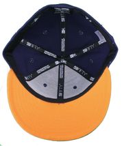 Dissizit New Era Fitted 59Fifty NY Hat Navy Orange new York City image 7