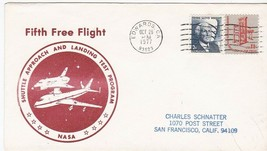 SHUTTLE APPROACH AND LANDING TEST FIFTH FREE FLIGHT EDWARDS CA OCT 29 1977 - $1.98
