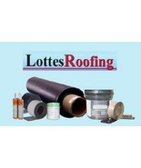 EPDM Rubber SEAMLESS Roofing Kit COMPLETE - 1,200 sq.ft. BY THE LOTTES C... - $1,495.40