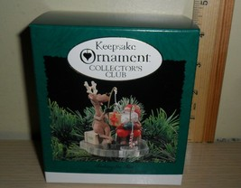 1995 Hallmark Collector's Club Ornament NIB  ~  Fishing for Fun - $6.88