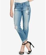 Jessica Simpson Mika Embellished Skinny Jeans, Size 28, MSRP $89 - $29.69