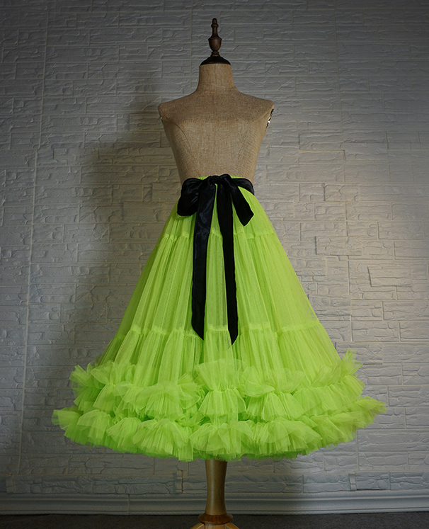 Layered ballet tulle skirt  17