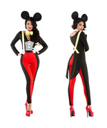 Women's Sexy Disney Mickey Mouse Costume Halloween Outfits - $42.15