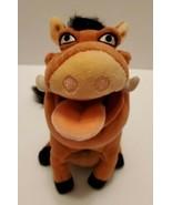 "Disney PUMBA Plush Stuffed Animal Toy 6"" The Lion KIng Character Pellet ... - $12.77"
