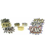 POW Rings New Iced Out One and Two Finger Style Metal Stretch Band And S... - $11.75+
