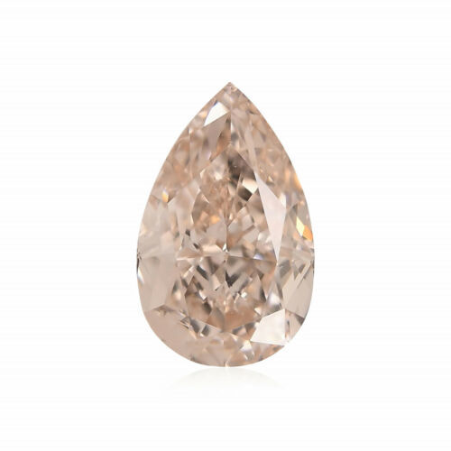 Primary image for 0.70 Carat Fancy Light Brown Pink Loose Diamond Natural Color Pear Shape GIA