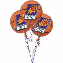 Phoenix Suns NBA Pro Basketball Sports Party Decoration Foil Mylar Balloons - $13.17