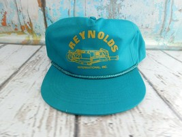 Vtg Reynolds international Inc SnapBack Mesh Trucker Dad Hat  - $15.83