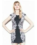 McQ Alexander McQueen Black / White Lace Print Bodycon Dress McQ Size Sm... - $121.55